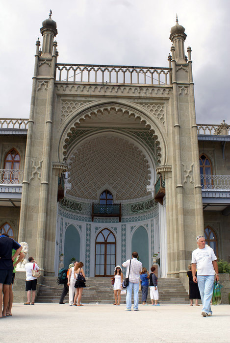 Парадный фасад Воронцовского дворца
