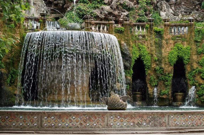 фонтаны в парке виллы д'Эсте