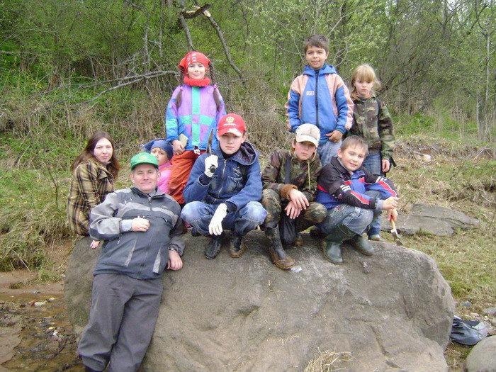 В парк Триасового периода я отправился вместе с юными геологами из Рыбинска