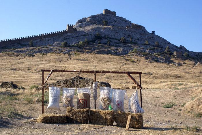 Утро в Генуэзской крепости, Судак