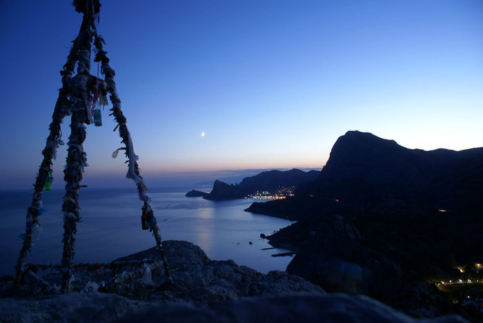 Ночь в Генуэзской крепости, Судак