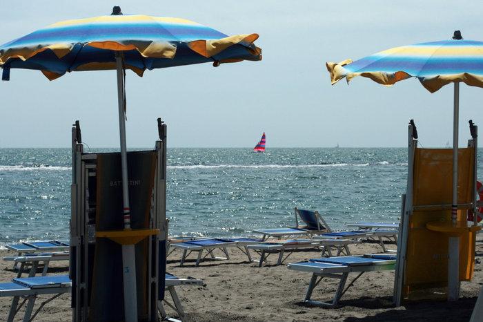 море в Лидо ди Остия