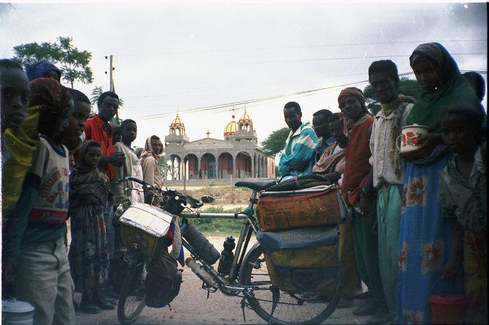 Эфиопия, около христианского храма