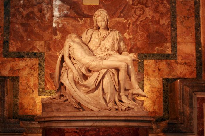 Пьета Микеланджело в Соборе Святого Петра в Ватикане Ватикан (столица), Ватикан