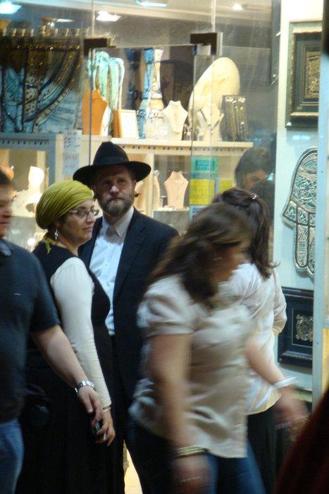 На улочках иерусалима