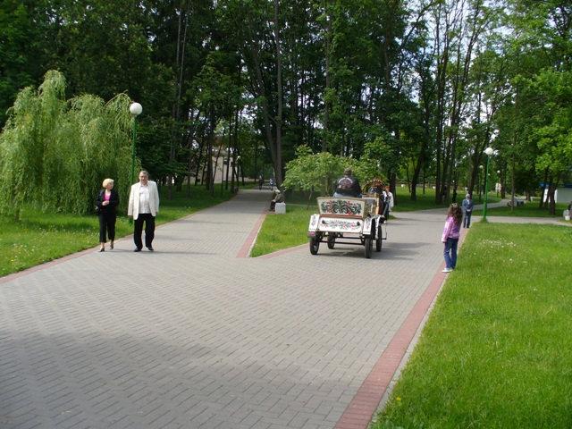 На дорожках парка