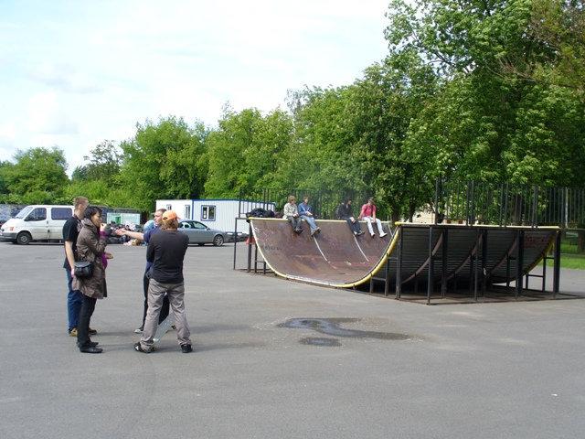 Скейтпарк по-белорусски
