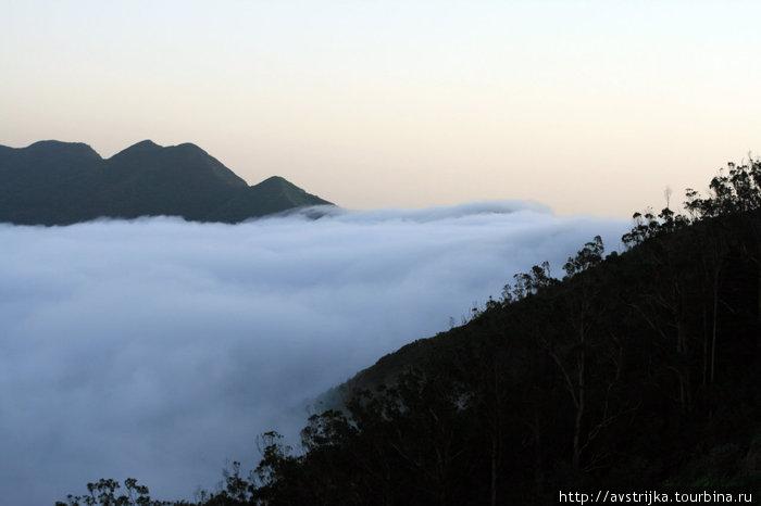 облака в Teno Alto
