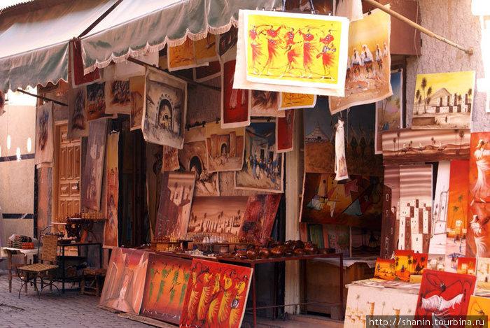 Выставка-продажа произведений марокканских художников