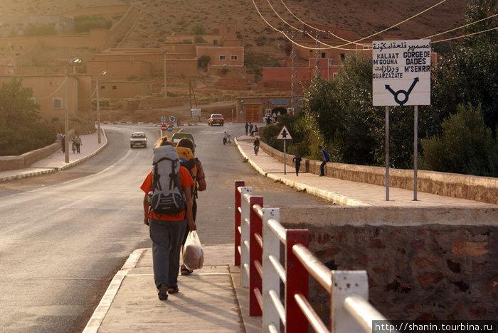 Выходим из Бульмана в сторону каньона Додес