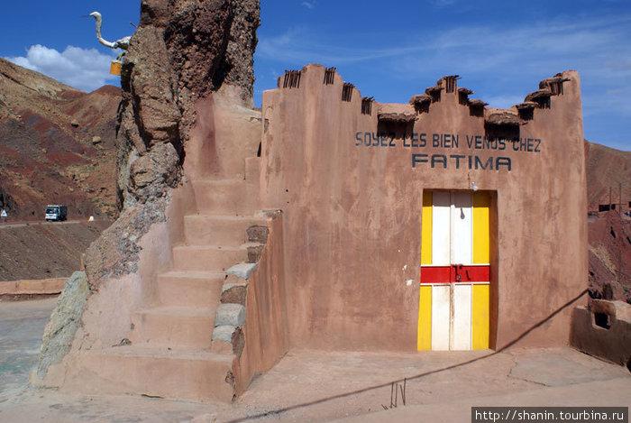 Дом Фатимы — из сказок 10001 ночи