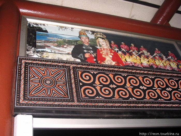 Декор Джакартского аэропорта
