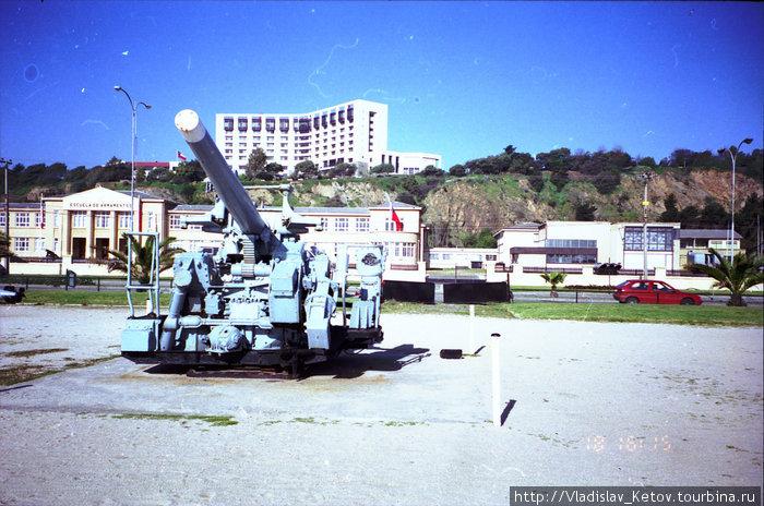 В этом городе на побережье находится весь свет чилийского военного флота
