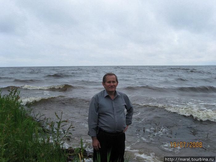 Разгулялось Рыбинское море