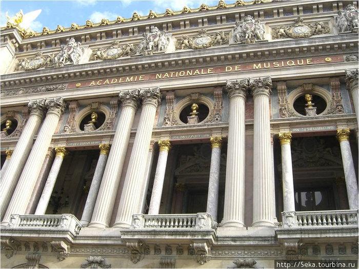 Здание Опера Гарнье