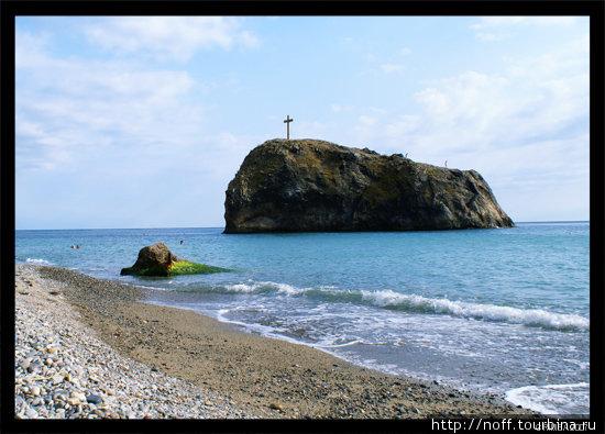 Пляж у мыса Фиолент