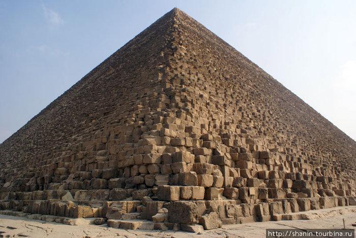 Ребро пирамиды Хеопса
