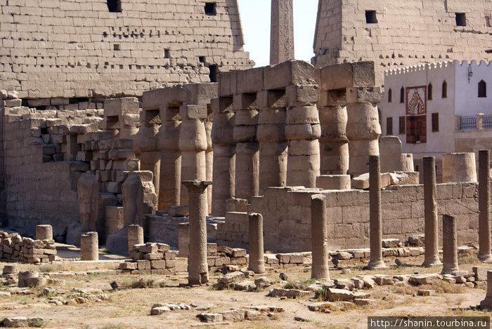 В Луксорском храме