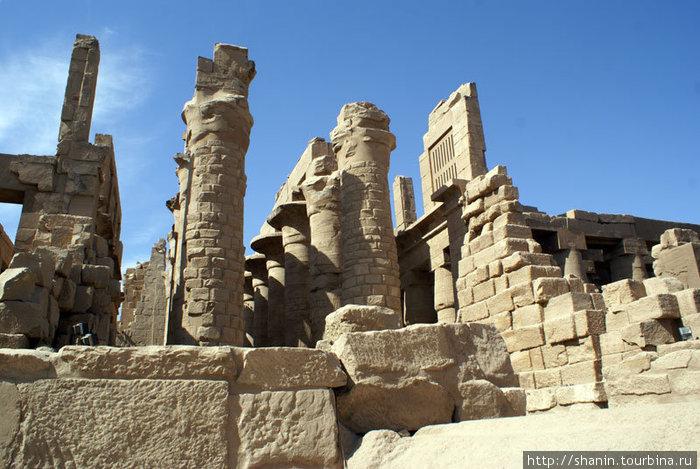 Главный храм Карнакского комплекса
