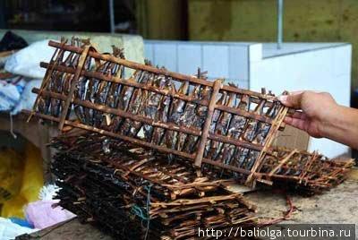 рынок Томохон (копченая рыбка)