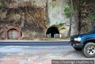 японские пещеры