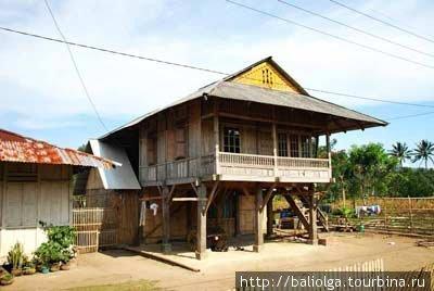 традиционный дом — окрестности Манадо