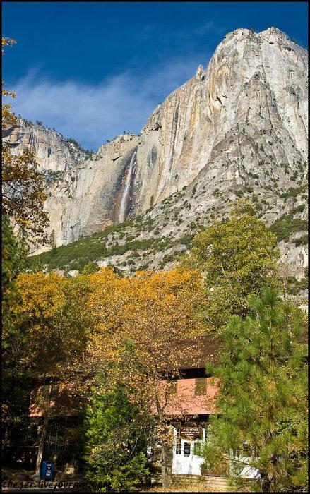 Вообще весь парк представляет собой обустроенную деревню, по которой курсирует гибридный автобус. Он может бесплатно доставить вас в любую стартовую точку трэйла, коих тут около 15. Йосемити Национальный Парк, CША