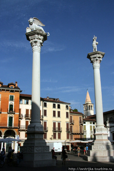 площадь Синьории в Виченце