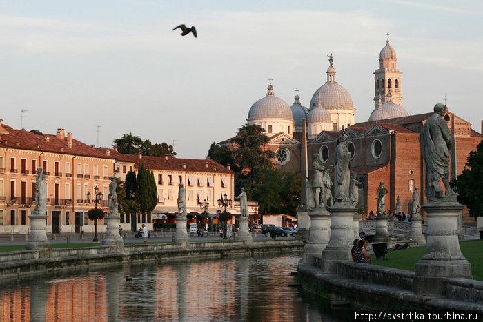 Прато-делла-Валле и базилика Святого Антония