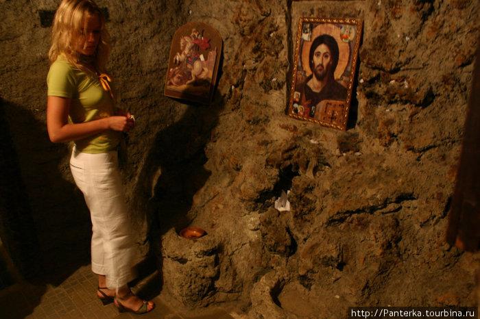 Подземелье, где был заключен св. Георгий