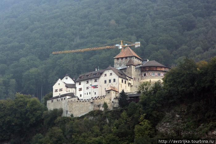 княжеский замок Вадуц