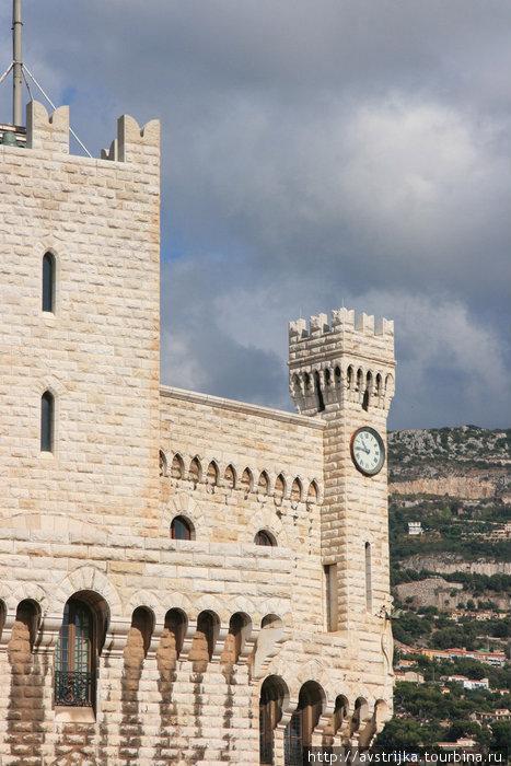 резиденция князя Монако
