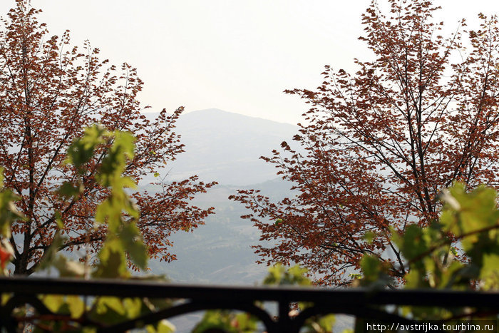 вид из окна Ristorante Bolognese