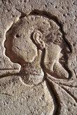 Греческий профиль на египетской скале