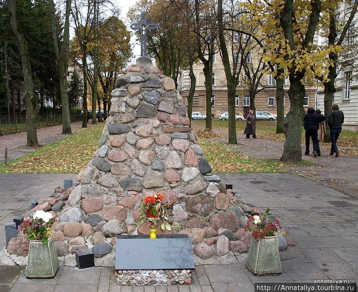 Памятник жертвам оккупации