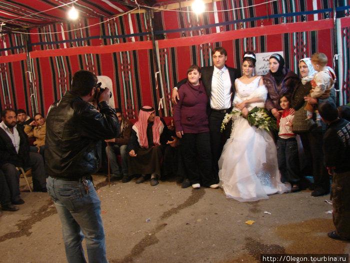 На ливанской свадьбе