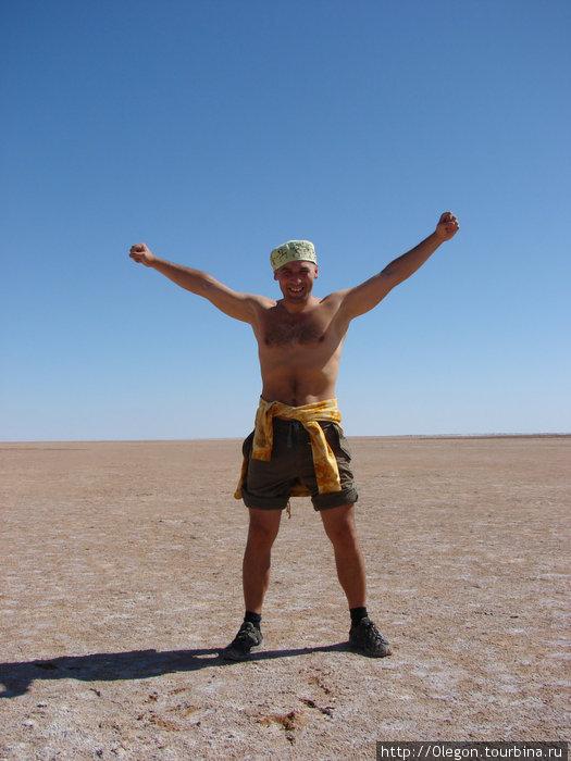 Кругом пустыня