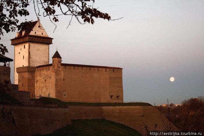 Нарвский замок и бастион Фортуна