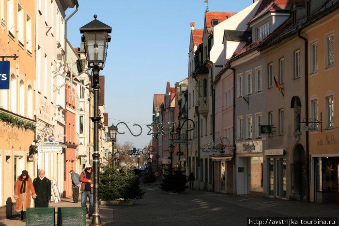 главная улица Фюссена — Reichenstrasse
