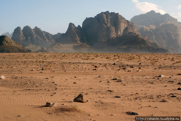 Пустыня Вади Рум