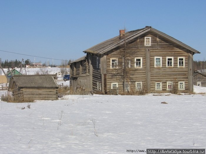 Типичный северный дом!