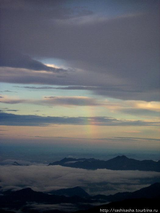 Нам даже посчастливилось увидеть радугу!!!