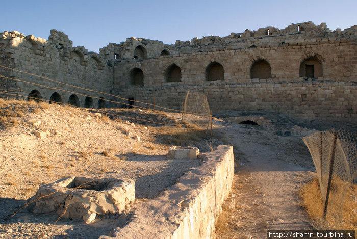 Руины замка Карак
