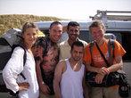 С друзьями-иорданцами