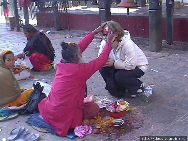 Йоги дают посвящения