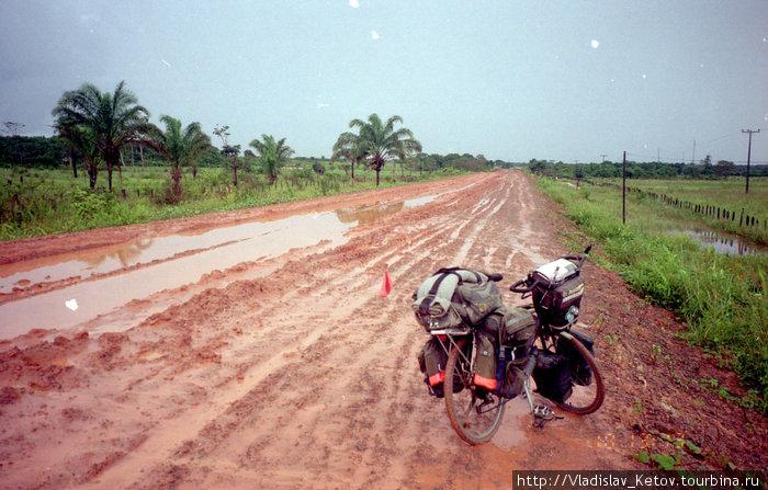 Дороги в сезон дождей