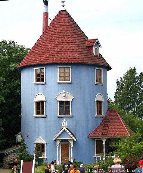 Знаменитый дом Мумми-троллей
