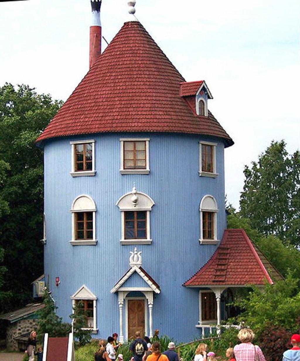 Дом для троллей своими руками 864