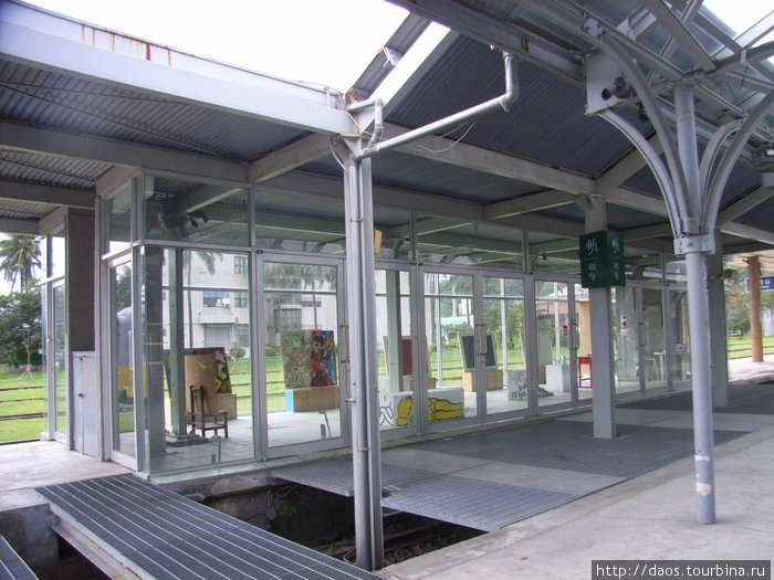 Старый вокзал превращён в выставку