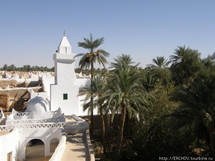 Вид на мечеть Гадамеса.
